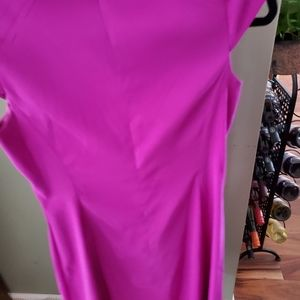 Gently worn. Great condition size 6 mauve sheath